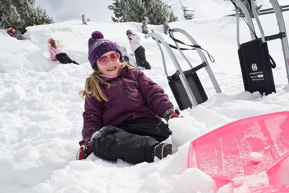 Schneevergnügen abseits der Pisten auf dem Walderhof